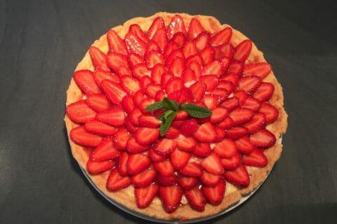 Tarte aux fraises Thermomix par Audreyz