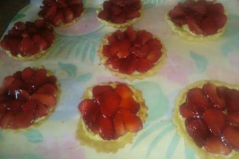 Tarte aux fraises Thermomix par Leha