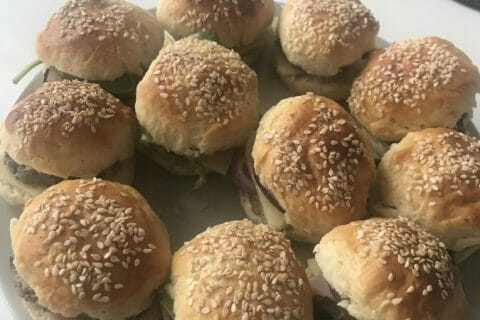 Mini burgers Thermomix par Emelb