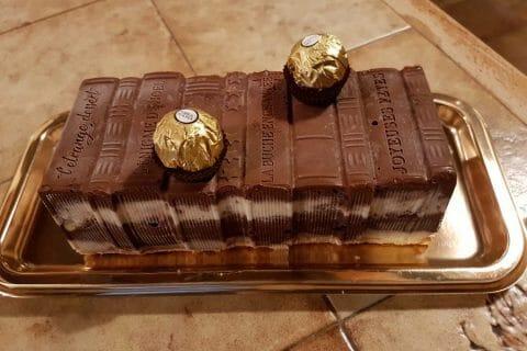 Bûche Ferrero Rocher Thermomix par Anny1368