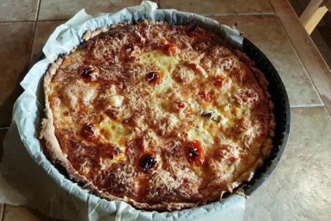Tarte au thon, tomate et moutarde Thermomix par Anny1368