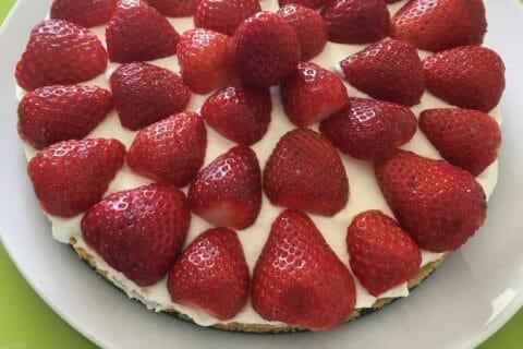 Tarte aux fraises sans cuisson Thermomix par Mimie80