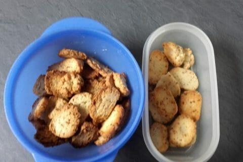 Biscuits apéritif crème et oignon Thermomix par Aurelie44