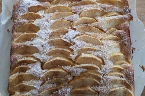 Gâteau aux pommes et mascarpone Thermomix par Nelly84