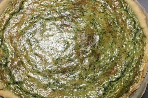 Quiche épinards et lardons au Thermomix
