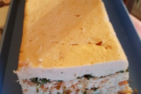 Terrine de saumon frais et fumé Thermomix par Mamadou37