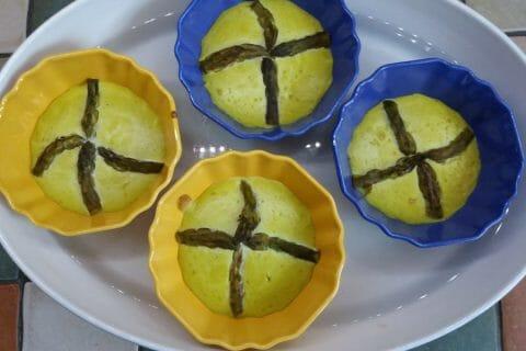 Flan aux asperges et parmesan Thermomix par Choco Addict