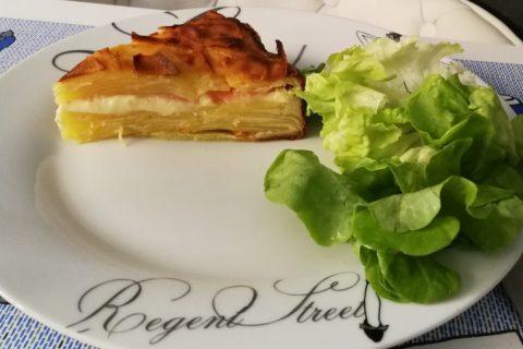 Gâteau invisible raclette Thermomix par petitlisou
