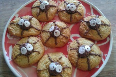 Spider cookies (cookies araignées) Thermomix par Deline16