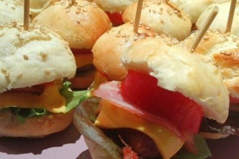 Mini burgers Thermomix par Laetitia38300