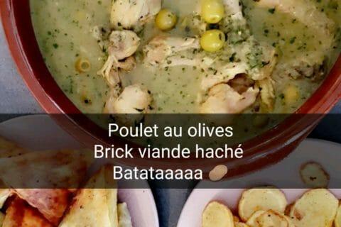 Tajine de poulet aux olives Thermomix par Chay Chayma