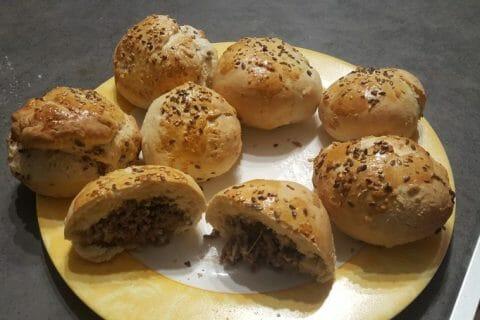 Petits pains farcis au boeuf Thermomix par nanou11240