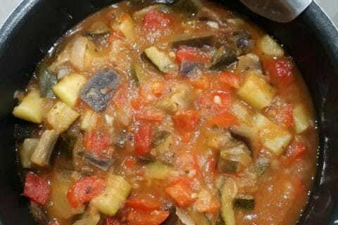 Ratatouille Thermomix par vivi13360