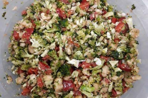 Salade de brocolis Thermomix par vivi13360