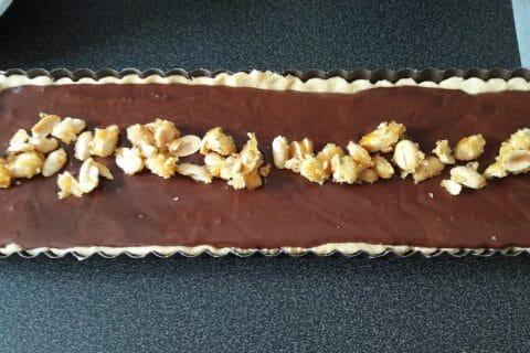 Tarte au chocolat et cacahuètes caramélisées Thermomix par PtitBouchon