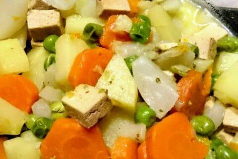 Jardinière de légumes aux lardons Thermomix par isajlc