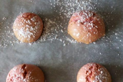 Craquelés aux biscuits roses de Reims Thermomix par Lili et doudou 42
