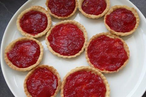 Mini tartelettes aux fraises Thermomix par Plopinou