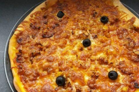 Pâte à pizza Thermomix par Plopinou