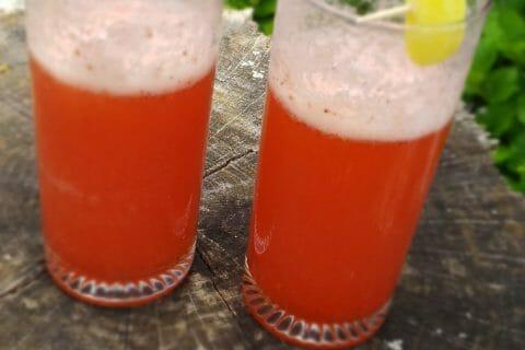 Limonade à la fraise au Thermomix