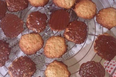 Havreflarn (galettes de flocons d'avoine) au Thermomix