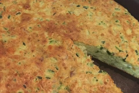 Zucchini slice – Pain de courgettes australien Thermomix par Corcodeziles