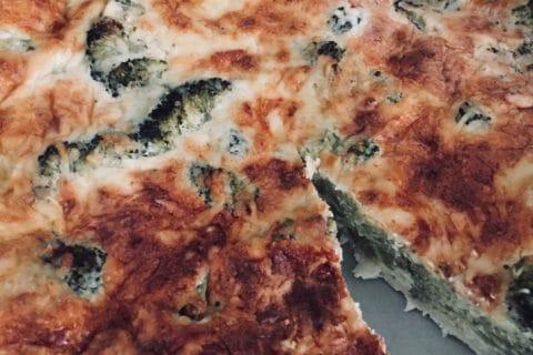 Tarte aux brocolis et roquefort Thermomix par Corcodeziles