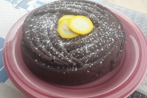 Gâteau au chocolat et courgettes Thermomix par Dany33
