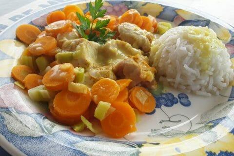 Blancs de poulet sauce moutarde et curry Thermomix par Dany33