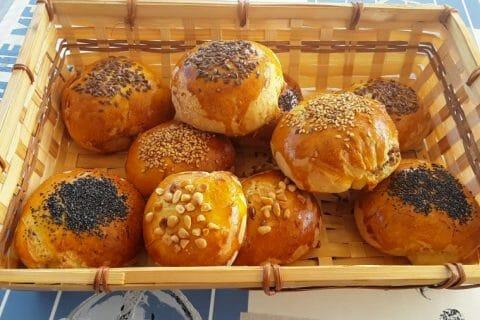 Petits pains farcis au boeuf Thermomix par Dany33