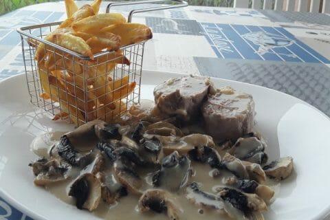 Filet mignon de porc au maroilles Thermomix par Dany33