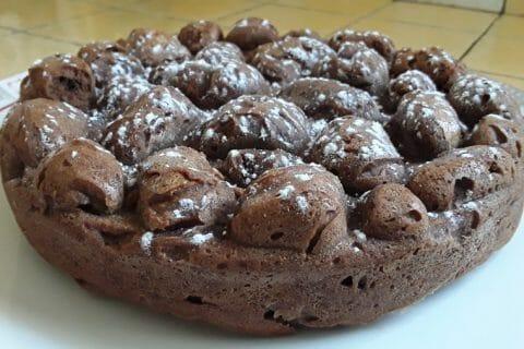 Fondant à la crème de marron et au chocolat Thermomix par Dany33