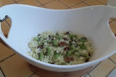 Salade pommes, chou et noix Thermomix par Dany33