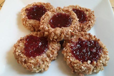 Biscuits à la confiture – Jam drops Thermomix par Dany33