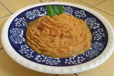 Purée de pommes de terre et patates douces Thermomix par Dany33