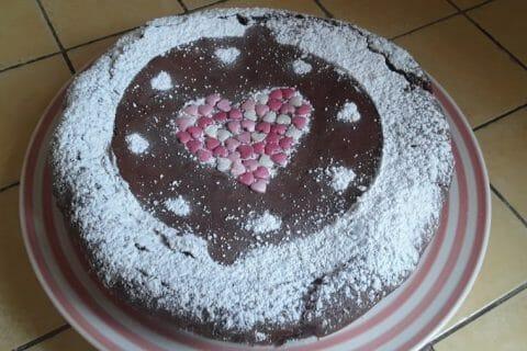 Gâteau macaroné au chocolat Thermomix par Dany33