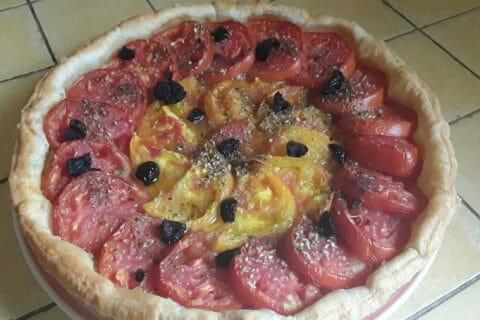 Tarte tomates et amandes Thermomix par Dany33