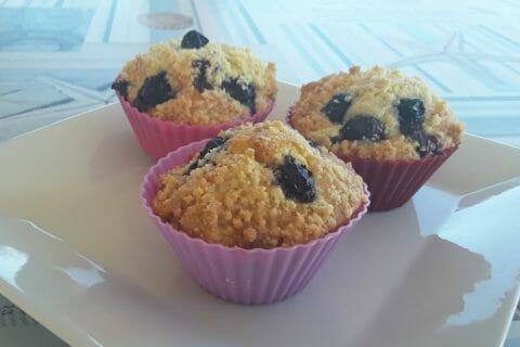 Muffins aux myrtilles Thermomix par Dany33