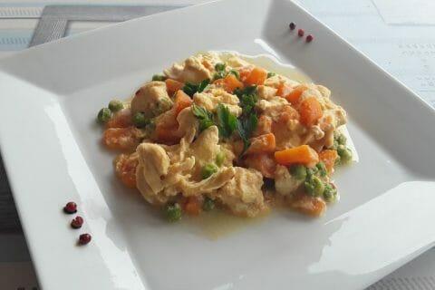 Curry de poulet aux patates douces Thermomix par Dany33
