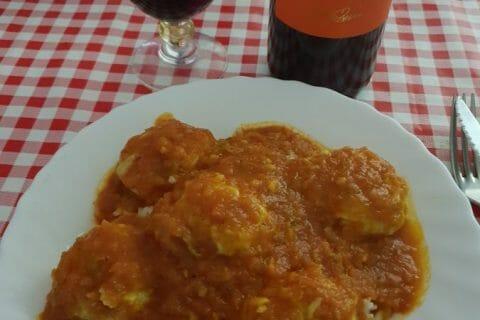 Boulettes de ricotta sauce tomate Thermomix par Stefan75