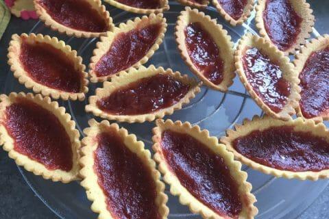 Mini tartelettes aux fraises Thermomix par Val_et_Ri
