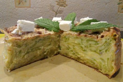 Gâteau invisible aux courgettes Thermomix par Fryda