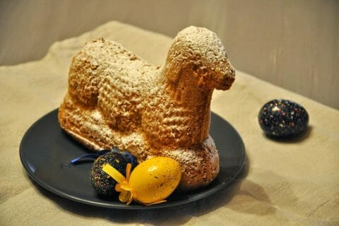 Lamala (agneau de Pâques) au Thermomix