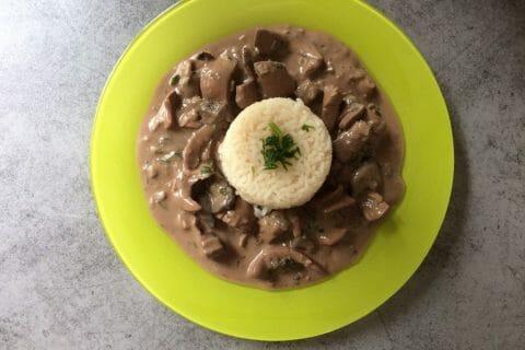 Rognons de porc sauce madère Thermomix par Fifi2306