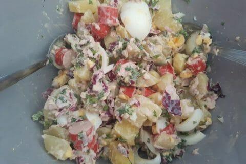 Salade strasbourgeoise Thermomix par nenette31430