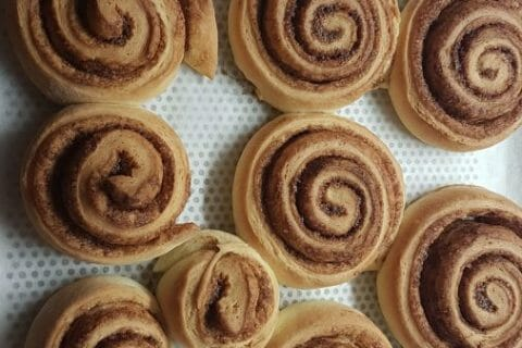 Cinnamon roll Thermomix par Melw67