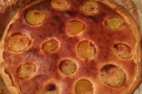 Tarte amandine aux abricots Thermomix par Pampam