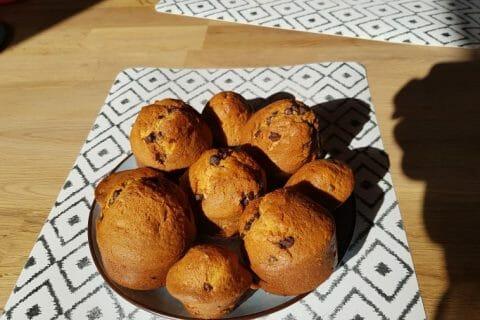 Muffins aux pépites de chocolat Thermomix par Natacha39