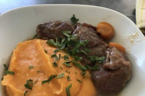 Purée de pommes de terre et patates douces Thermomix par Audinette-7