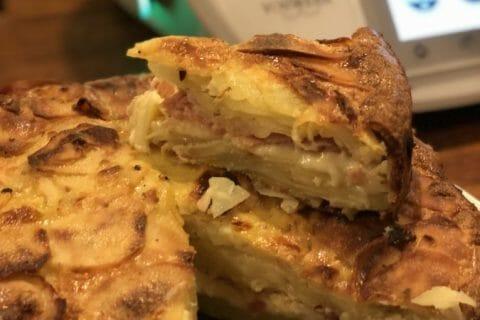Gâteau invisible raclette Thermomix par Jaja54